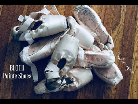 Bloch Pointe Shoe Review Axiom, Hannah, Heritage, Amelie