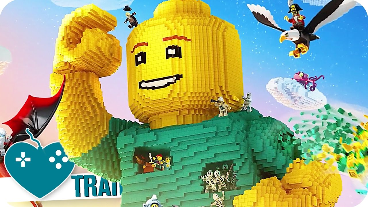 Lego Worlds Trailer 2017 Ps4 Xbox One Pc Game Youtube