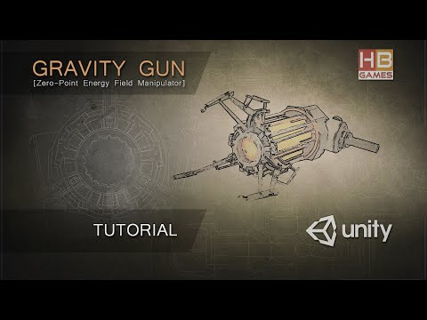 Gravity Gun for Unity Software - Tutorial thumbnail