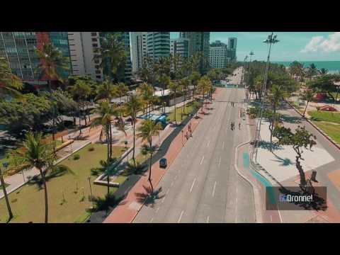 Av Boa Viagem Recife/PE Drone.