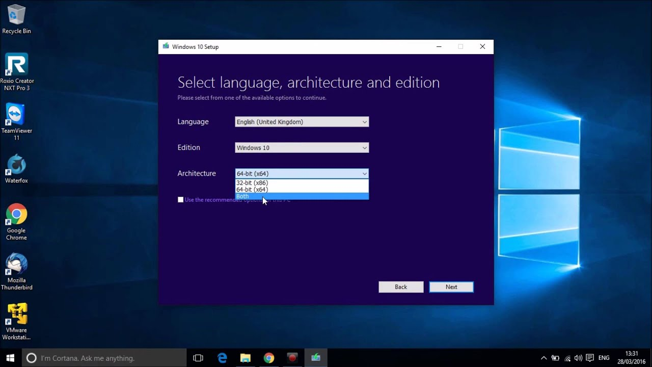 how to make a windows install disk