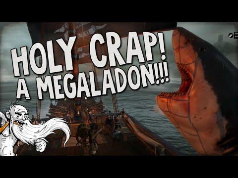 """OMG A FREAKING MEGALODON!!!"" - Man O' War Corsair 1080p HD Gameplay Walkthrough"