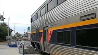 Amtrak 702 and 712 of 8/22/09 Through Hanford, CA