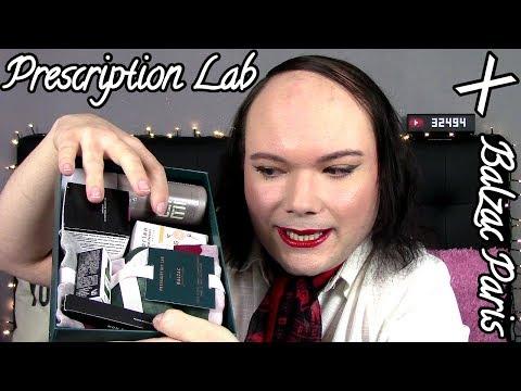 J'ouvre THE box ! Prescription Lab X Balzac Paris - Unboxing