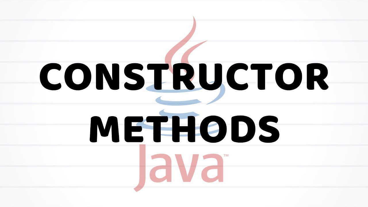 Java For Beginners - Using A Constructor Method