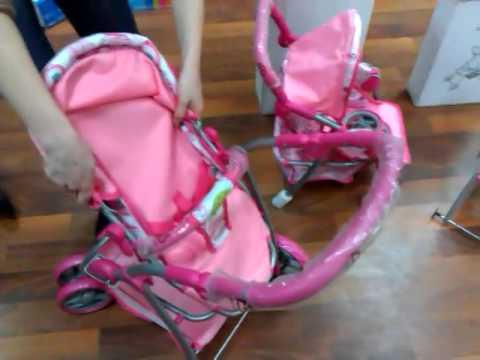 коляска Marsel в магазине Крошка Бишкек - YouTube