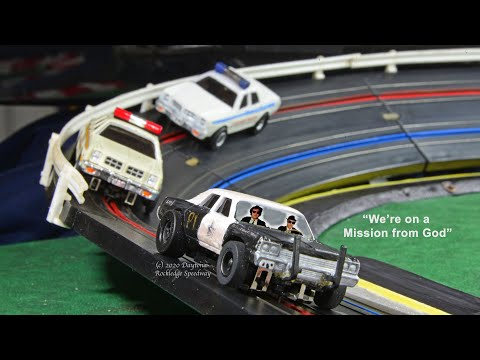 Mission from God (Blues Brothers Wild Slot Car Chase!)