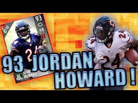 93 OVR HOWARD RUNS THROUGH THE DEFENSE! - MADDEN NFL 17 ULTIMATE TEAM