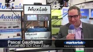 Muxlab 6G SDI Over Fiber Extender