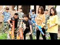 Hihahe Nerf War: Super-Hero Nerf guns warriors Squad SWAT secret of Love Nerf