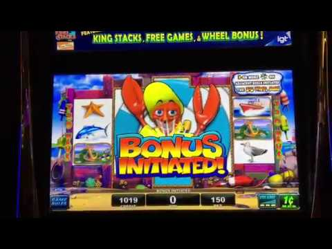 Nice Run On Lobstermania Slot Machine I Kept Cashing Out Youtube