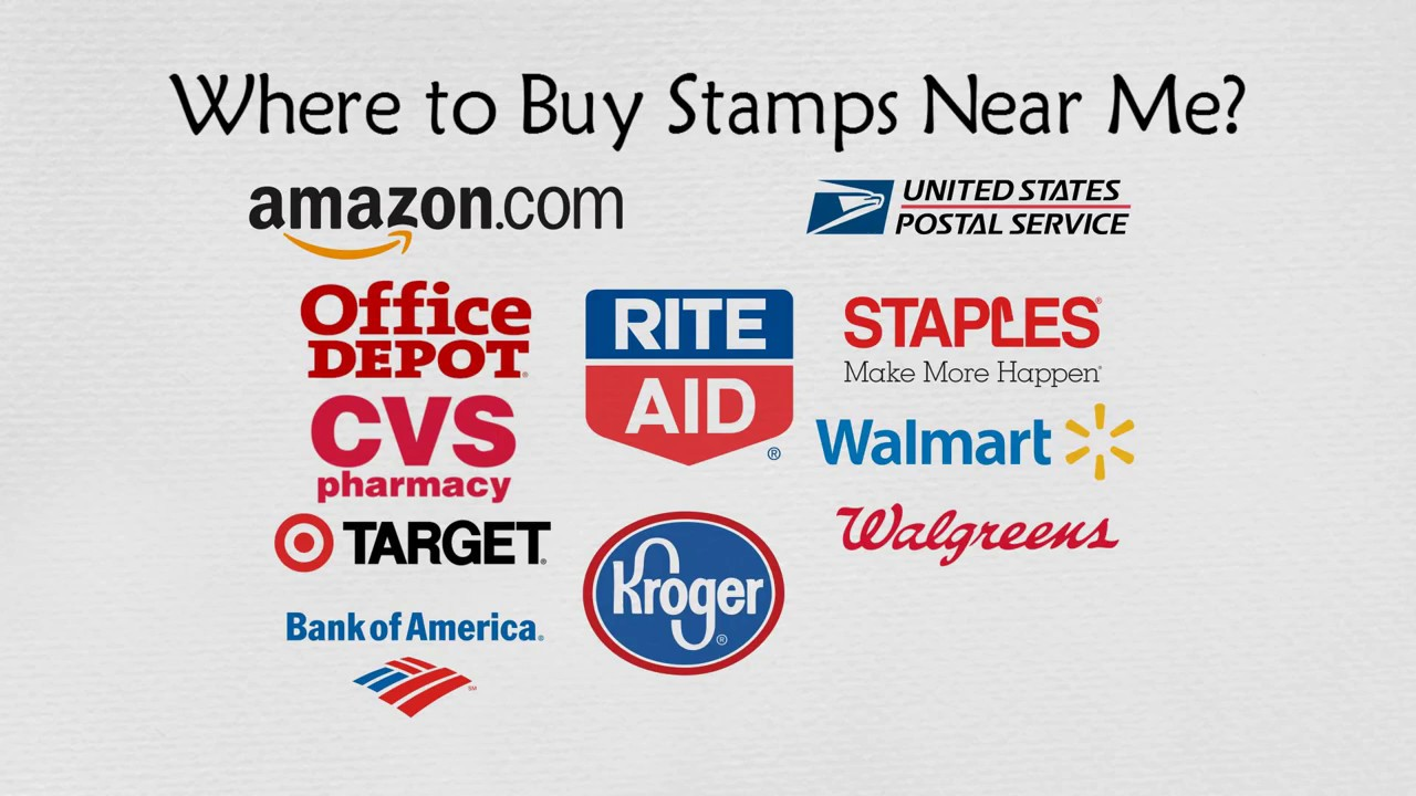 Where to buy stamps - Where To Buy Stamps Near Me 20 Places To Buy Postage Stamps