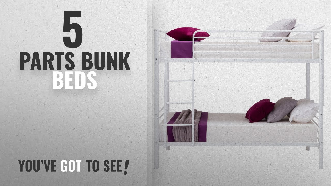 Top 10 Parts Bunk Beds 2018 Mecor Twin Over Twin Metal Bunk Beds