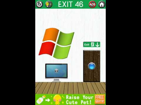 Exit 46, 100 Exits! Game Walkthrough / Level Solution!