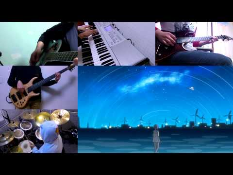 Supercell - Utakata Hanabi band cover (Instrumental)