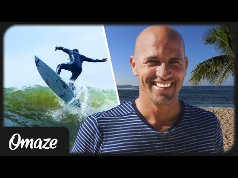 Kelly Slater Invites You to Join Him at His Surf Ranch // Omaze