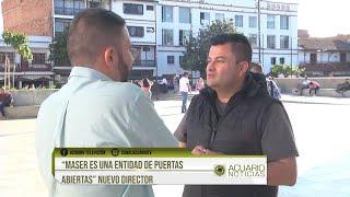 """""""MASER es una entidad de puertas abiertas"""" nuevo director"""