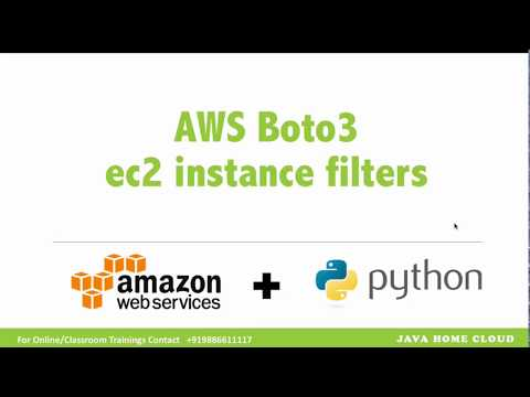 AWS Boto3 - Describe EC2 instances by its running state and stop