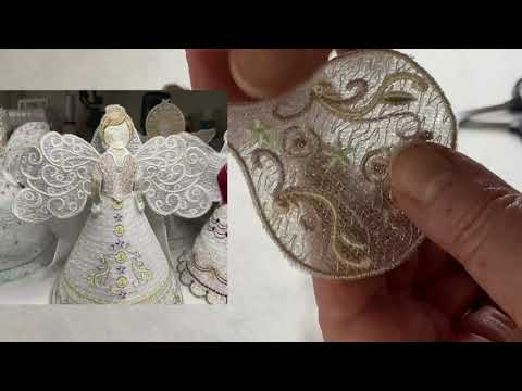 Introducing the Embroidery angel and the freebie