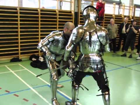 Gladiatoria : Part 1/6 : Swordfight in Armour : Hammaborg