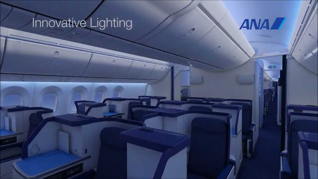 Lovely ANA Boeing 787 Interior