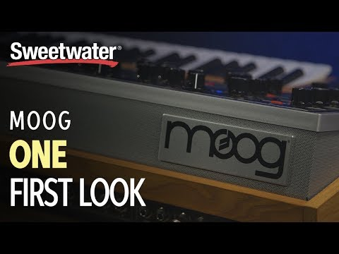 Moog One - First Look with Daniel Fisher Mp3