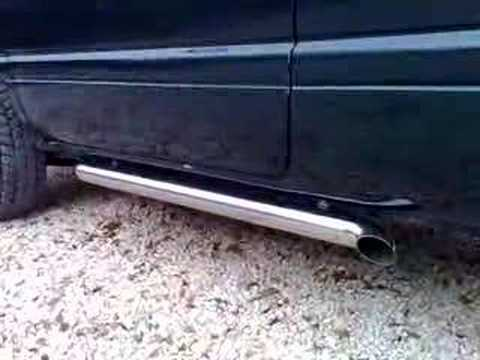 dodge ram qtec side pipe exhaust