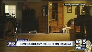 Home burglars caught on camera in Surprise