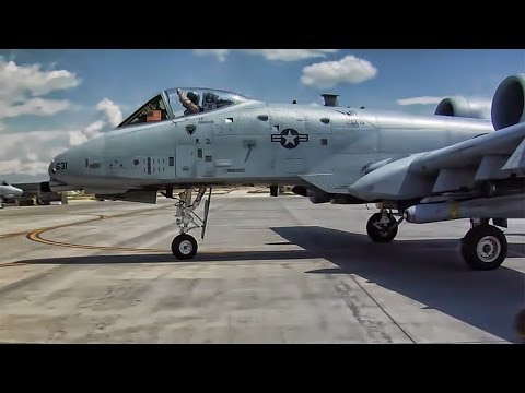 A-10 Fighter Squadron Deploys To Afghanistan
