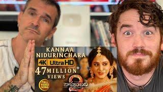 Baahubali 2 song REACTION!! | Kanna Nidurinchara | Prabhas,Anushka