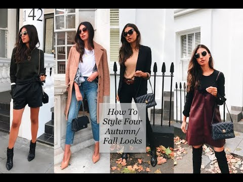 How To Style: Four Autumn Looks 1