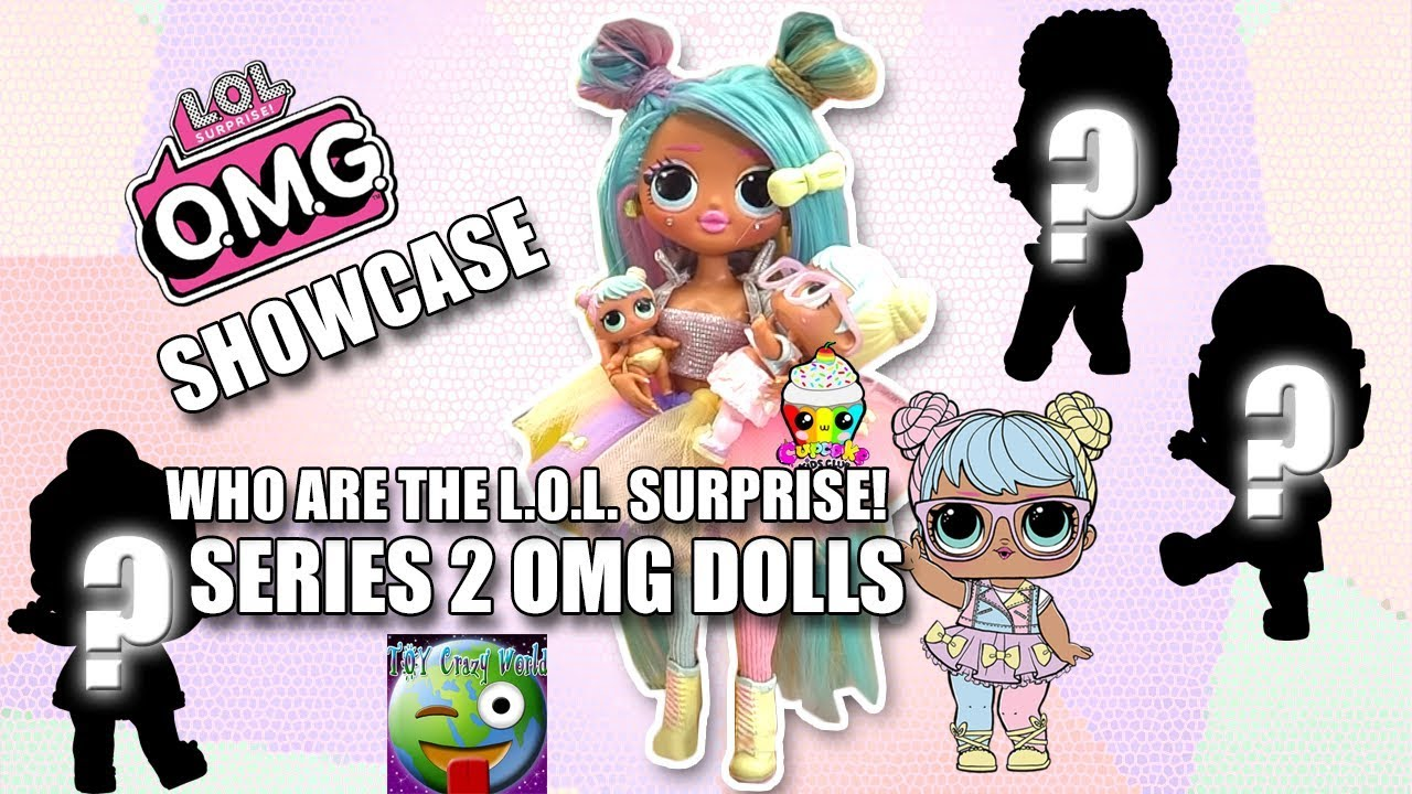 Who Are The Lol Surprise Omg Series 2 Dolls