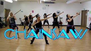 Video Chainsaw - Family Force Five ft. Tedashii -Hip Hop Christian Dance Fitness Routine (Choreo by Susan) download MP3, 3GP, MP4, WEBM, AVI, FLV November 2018
