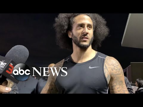 Colin Kaepernick holds workout for NFL teams | ABC News