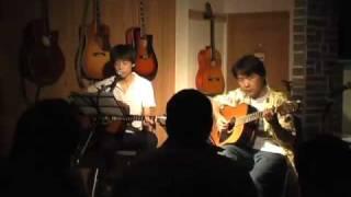 10年5月29日(日)広島・フォークスペース 置時計にて♪ とんぼちゃんの78...