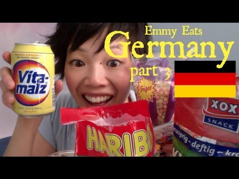 Emmy Eats Germany: German Snacks & Sweets Part 3