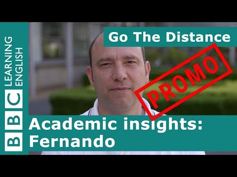 PROMO: Academic Insights – Meet Fernando