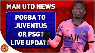 Pogba Contract Talks! PSG & Juventus Interested Sancho Update | Man Utd Transfer News