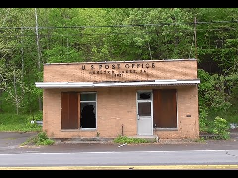 ABANDONED POST OFFICE - Hunlock Creek, PA