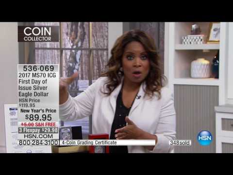 HSN | Coin Collector featuring New Releases 01.03.2017 - 08 PM