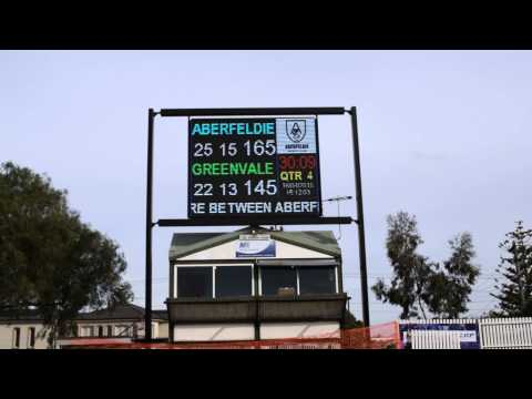 Electronic Signage Australia - Video Board AFL Mode