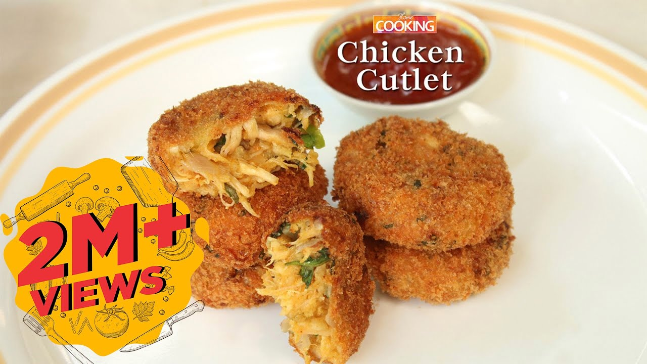 Chicken Cutlet l How To Make Chicken Cutlet l Chicken Recipes | Snacks Recipes | Home Cooking Show