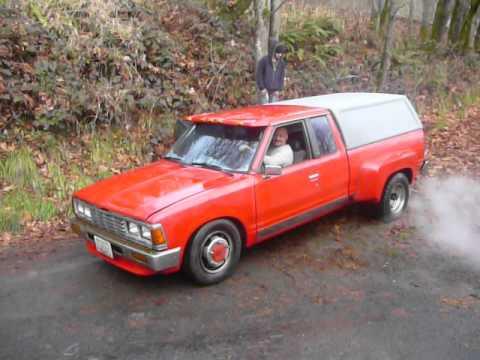1983 Nissan 1 Ton Flathbed Dually Pickup Doovi