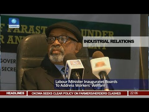 Labour Minister Inaugurates Boards To Address Workers' Welfare