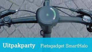 Uitpakparty SmartHalo: fietscomputer met navigatie en alarm