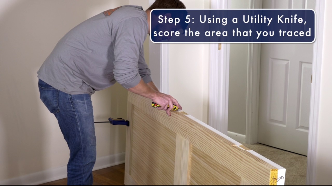 How to replace and install an interior door youtube how to replace and install an interior door planetlyrics Images