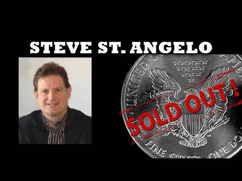 Silver Shortage Will Destroy Paper Price Within 1 Year - Steve St. Angelo of SRS Rocco Report