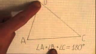 Сумма углов треугольника   формулировка