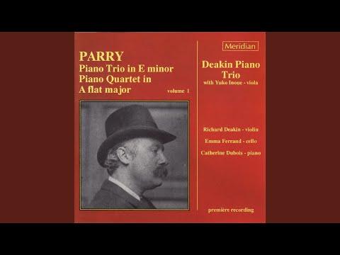 Piano Quartet in A-Flat Major: IV. Allegro