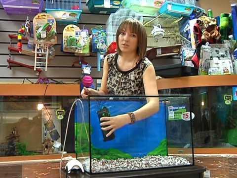 Как собрать аквариум?
